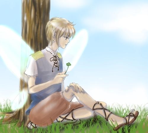 妖精の絵2