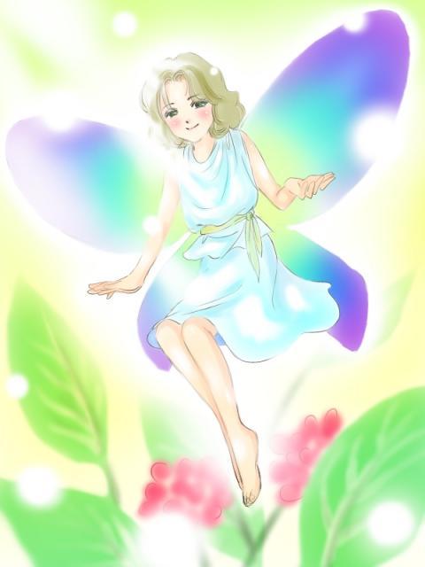妖精の絵1