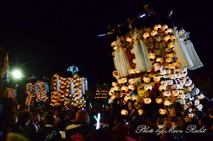 喜多濱御輿(北浜みこし) 西条祭り2011 お旅所 伊曽乃神社祭礼