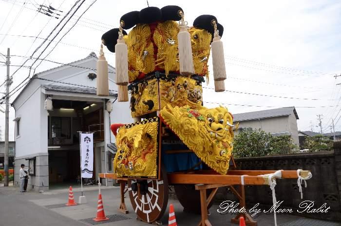 下喜多川御輿蔵・下喜多川集会所・荒神社 愛媛県西条市下喜多川 西条祭り