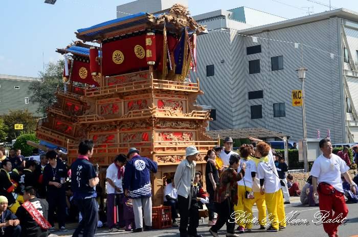 七泰会 玉津屋台(だんじり) 御殿前 西条祭り2012 愛媛県西条市明屋敷