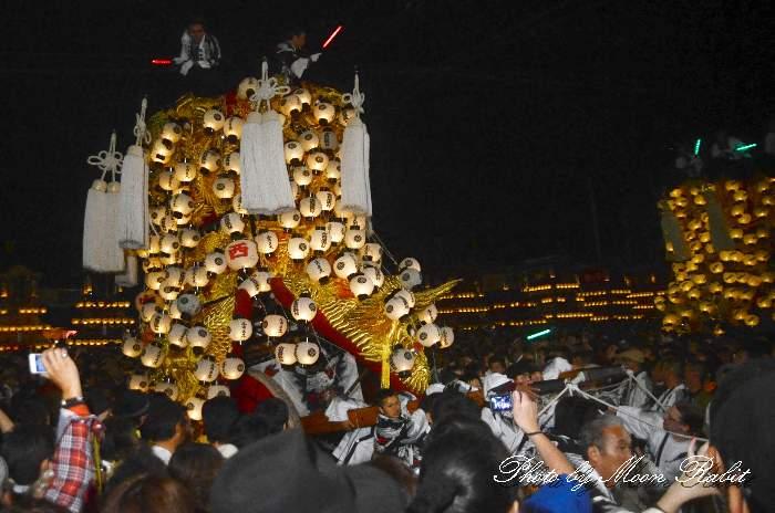 中西御輿 西条祭り2012 御旅所 伊曽乃神社祭礼 愛媛県西条市