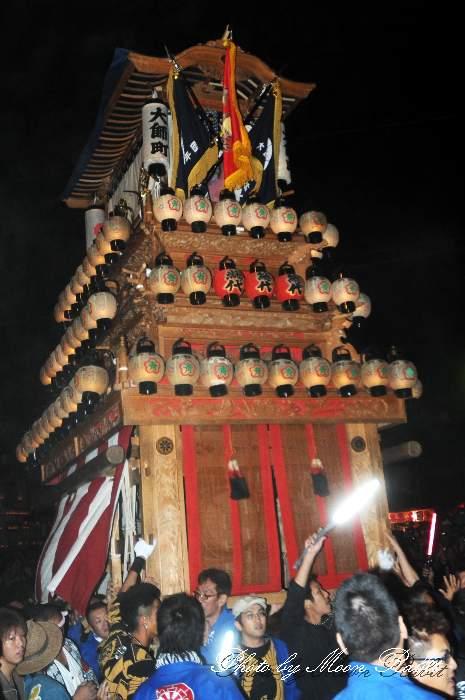 西条祭り2012 大師町だんじり(屋台・楽車) 御旅所 伊曽乃神社祭礼 愛媛県西条市