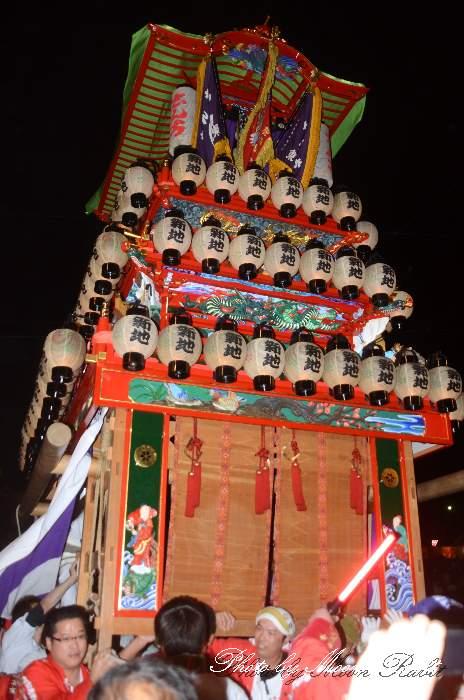 西条祭り2012 新地だんじり(屋台・楽車) 御旅所 伊曽乃神社祭礼 愛媛県西条市