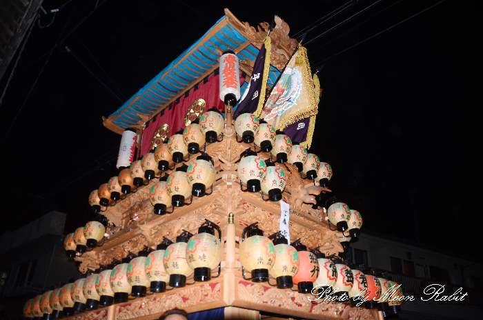 常盤巷屋台(だんじり) 西条祭り2012 愛媛県西条市大町北の丁下