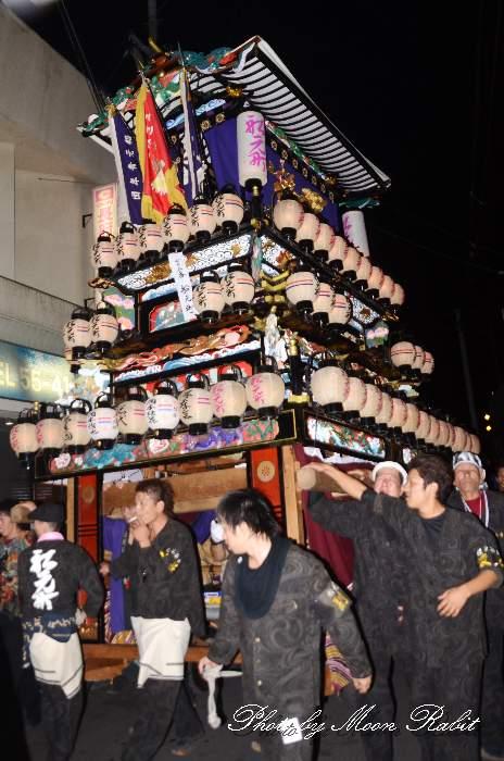 船元町屋台(だんじり) 西条祭り2012 愛媛県西条市大町北の丁下