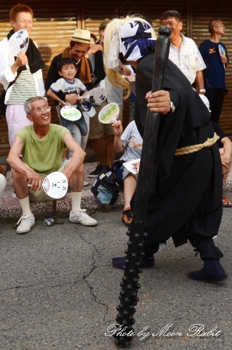 関太鼓台 黒鬼 上野太鼓祭り 愛媛県四国中央市土居町 新居浜夏祭りにて