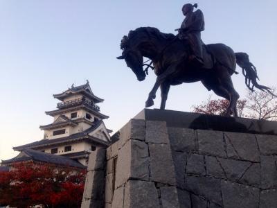 今治城(朝焼け)
