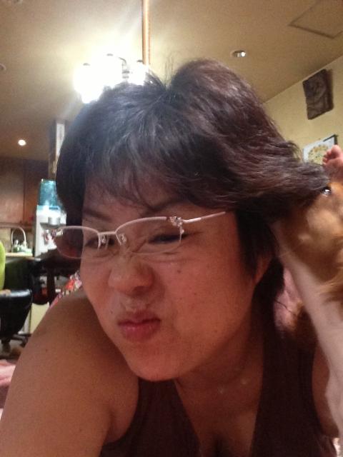やめてーーー小太郎!!べろべろに舐められる。