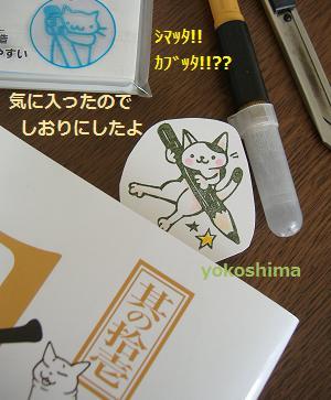 2013 5えんぴつネコ3