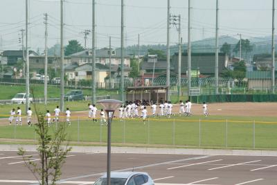野球部再開1
