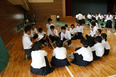 学校祭集会9