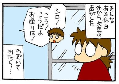 シロと次男-crop03