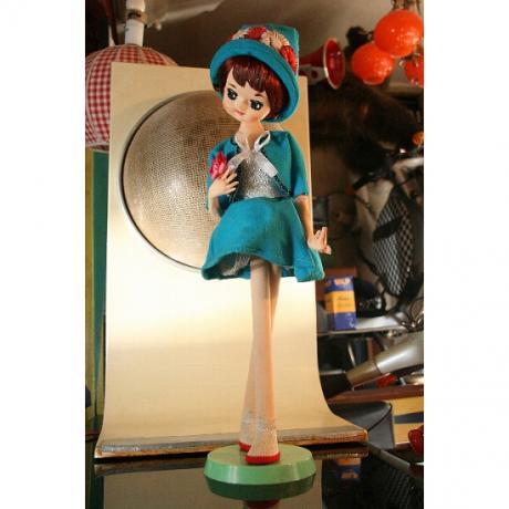 昭和のフランス人形