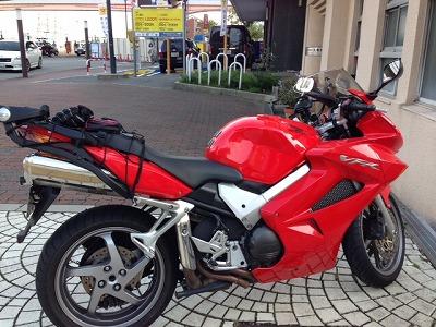 友達のバイク