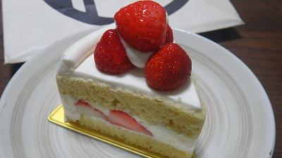 アンリのショートケーキ