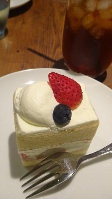 ナトゥーラ・ナトゥーラのショートケーキ