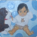 「1歳」塗り4回目