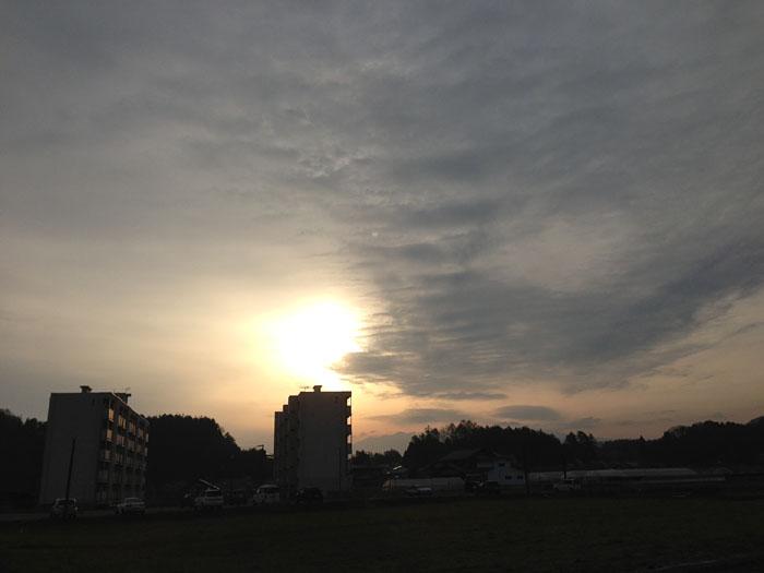 穀雨 2013 朝日