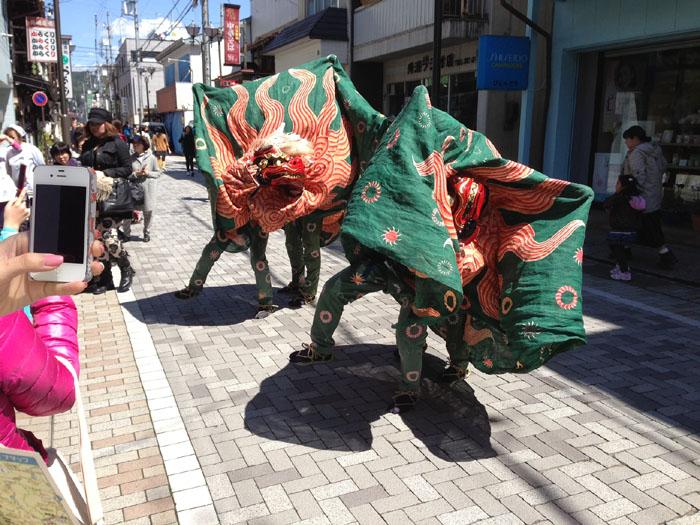 春祭り 獅子舞 2013