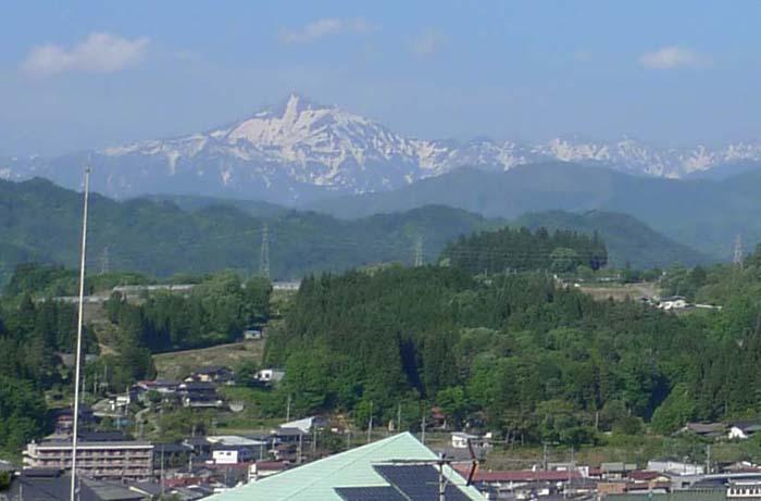笠ヶ岳 白馬 雪渓 2013