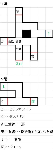 新ピラフ城マップ