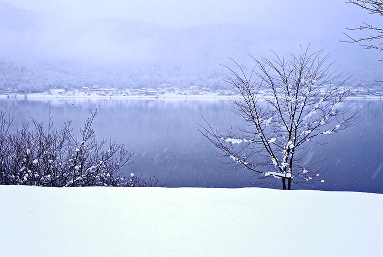 余呉湖(冬)03