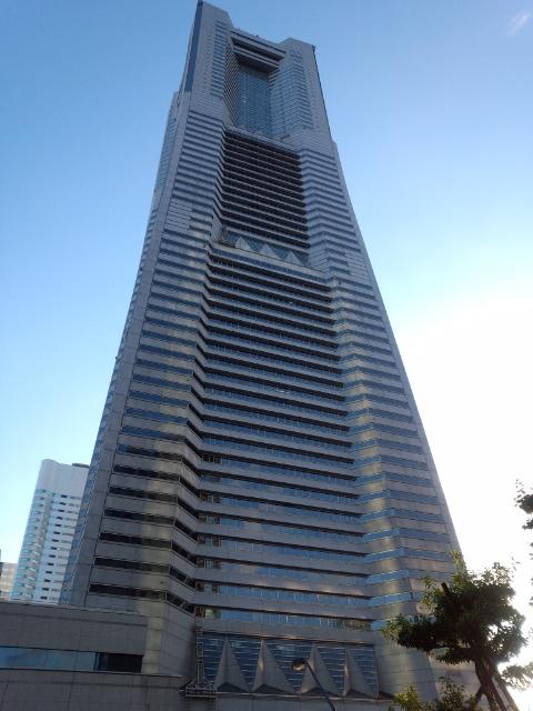 横浜ランドマークタワー♪