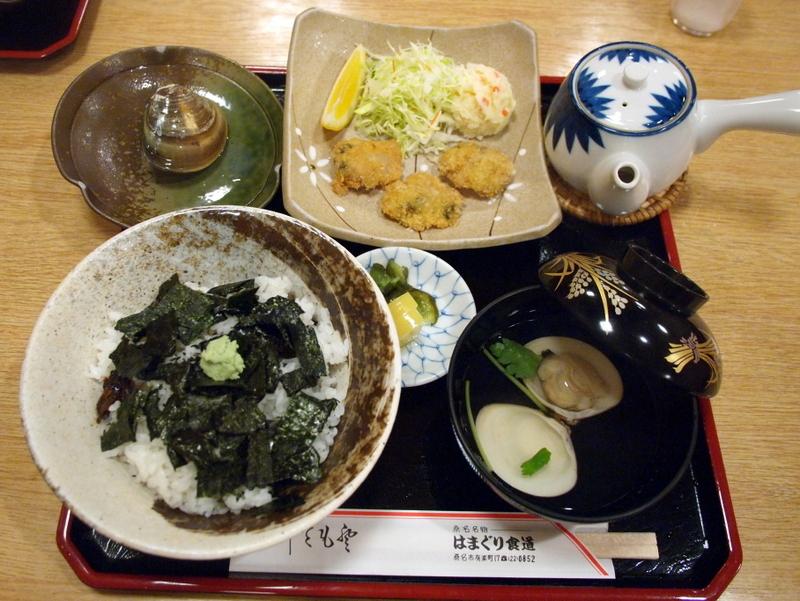 ■ はまぐり食道 桑名駅前