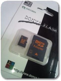 上海問屋のMicroSDHCメモリーカード16GB