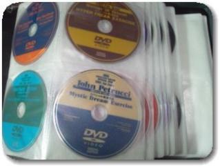 DVDをまとめるバッグ256枚収納