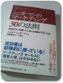 シュガーマンのマーケティング30の法則を買った