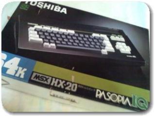 MSXパソコンパソピアIQの箱