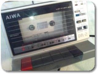 MSXパソコンのデータレコーダー