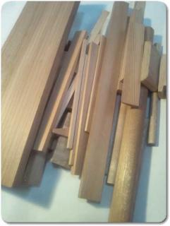 自由工作キット木片セット