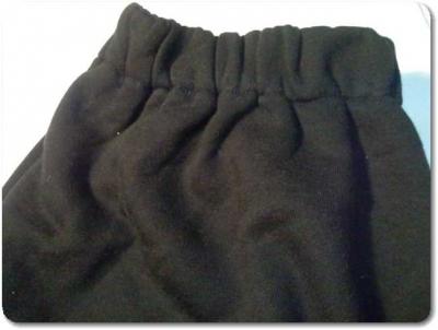 ユナイテッドアスレスウェットダンスパンツXXLサイズの裾