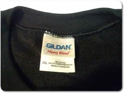 ギルダンのスウェットトレーナー2XL大きいサイズ買った