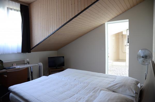 スイス初日ホテル