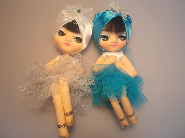 レトロ人形