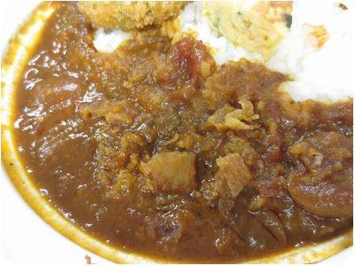 カレー・ハヤシ2種盛り弁当