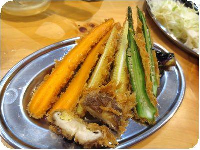 野菜カツ五種盛り