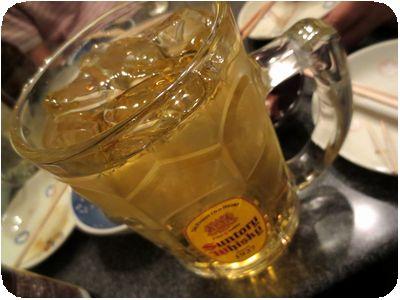 緑茶ハイ(メガジョッキ)