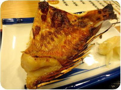 焼魚定食(赤魚)