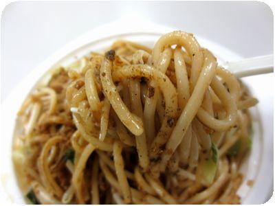 坦々スパゲッチ