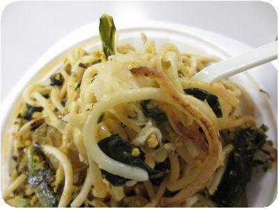 高菜と挽肉