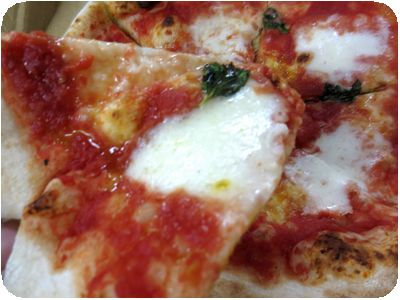 本日のピザ(マルゲリータ)