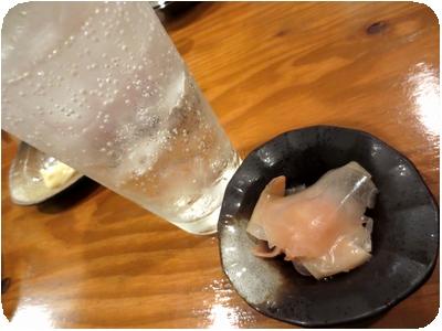 酎ハイ+ガリ
