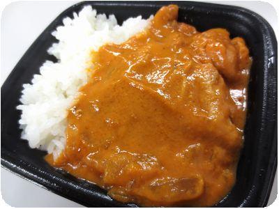 チキンとインドカレー