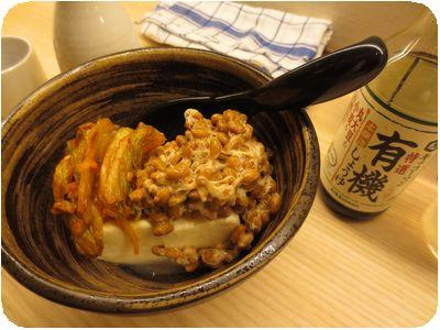 キムチ納豆とうふ