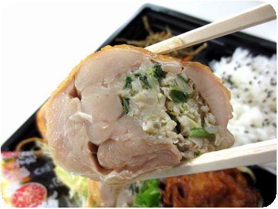 鶏餃子弁当